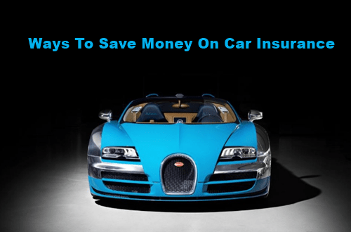 Ways to save money on car insurance.
