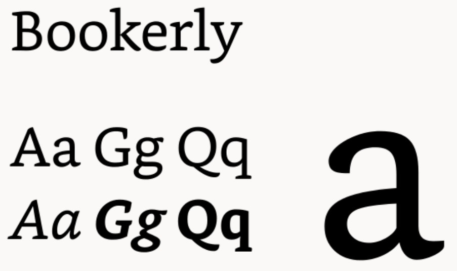 Bookerly Font Download