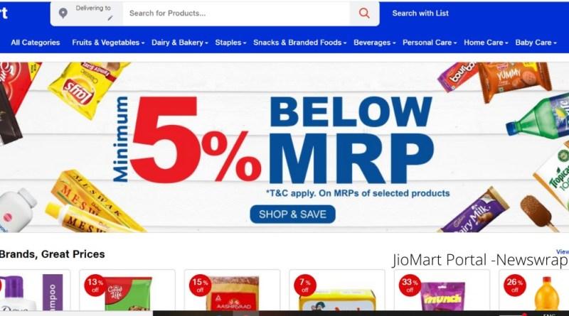 JioMart launches online portal