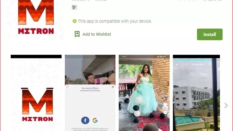'Mitron' app an Indian alternative of TikTok