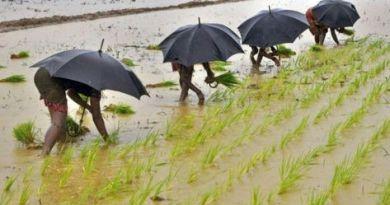 Monsoon arrival in Kerala