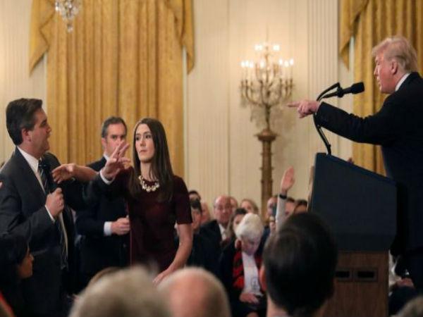 White House Suspends CNN Reporter Jim Acosta Press Pass1
