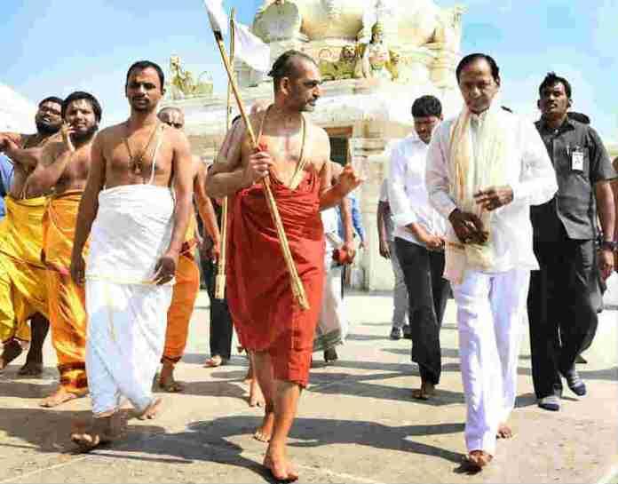 cm-kcr-divya-saketam-visit