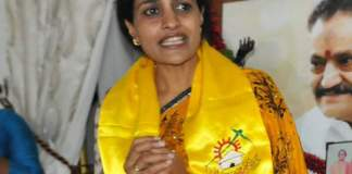kukatpally tdp candidate suhasini compiant to ec against police and trs leaders