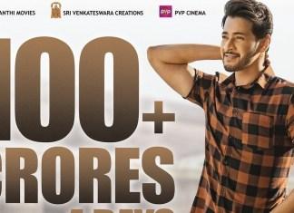 maharshi 100 crotes collections