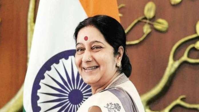 sushma swaraj photos
