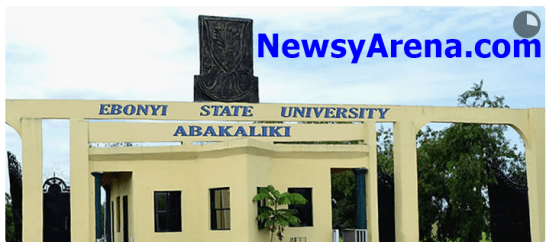 EBSU Pre-Degree Form for 2015 Admission