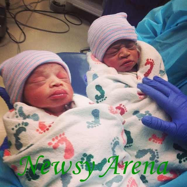 TY Bello is now the mother of two bouncing baby boys (Christian and Christopher)