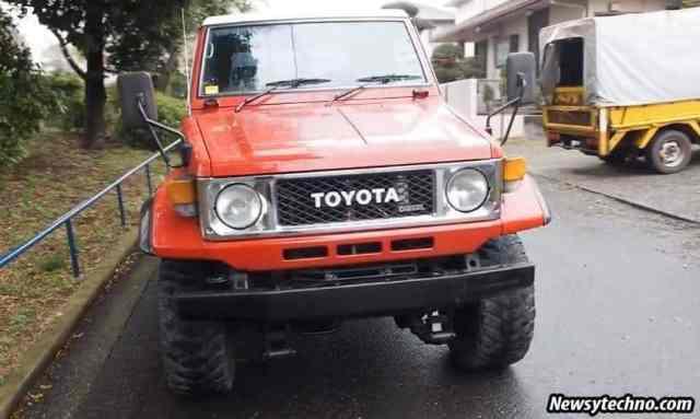Toyota Land Cruiser History Model 70