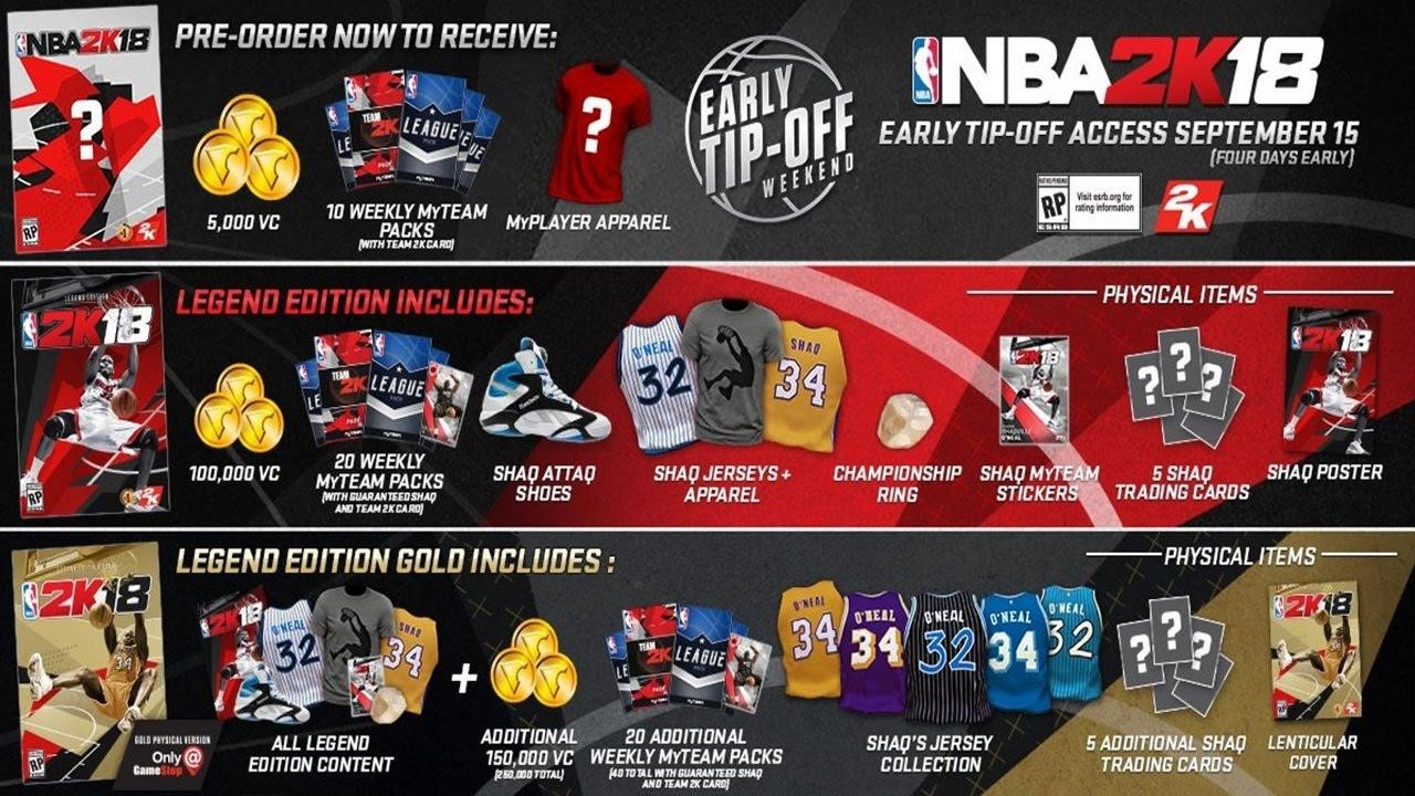 Challenge For NBA 2k18 Publishers