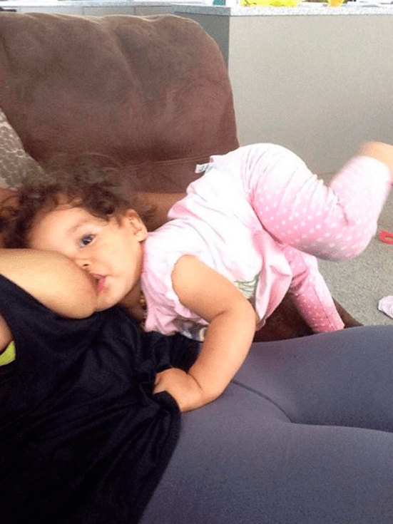 40 Seriously Flexible Breastfeeding Positions Babies Doing