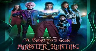 a babysitter's guide to monster hunting movie poster