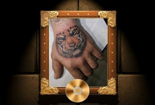 Tiger tattoo on the hand - Tatouage Tigre sur la main