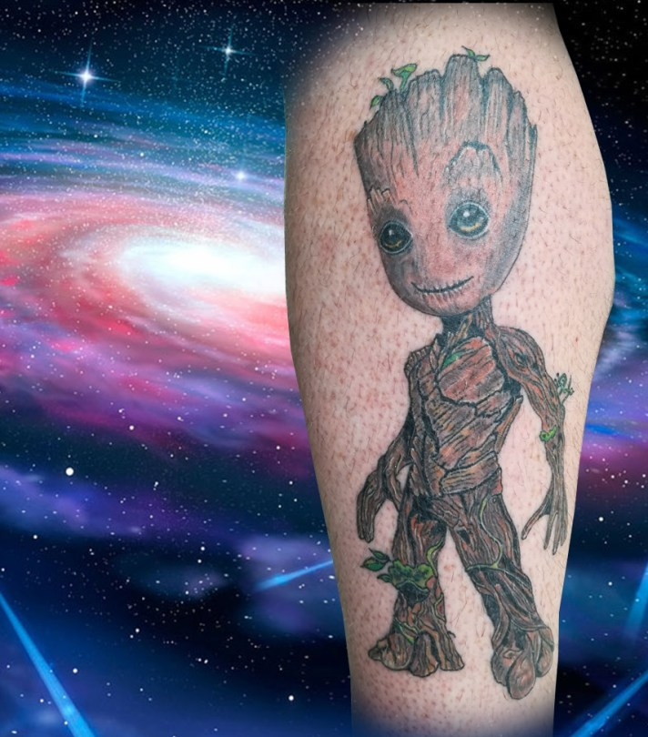 Tatouage Groot Gardiens galaxie - Groot Guardians of the Galaxy tattoo - France (40)