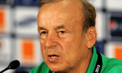 Rohr: Eagles not afraid of Cameroon