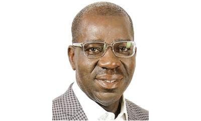 Edo govt dissociates self from man chained to police van, orders probe