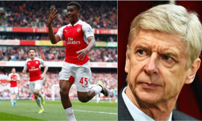 Iwobi wants manager Wenger to stay