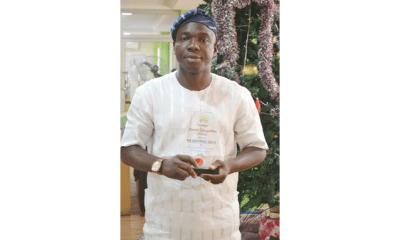 Adeyinka Ajala becomes goldfish