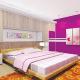 Décor ideas for colourful bedroom