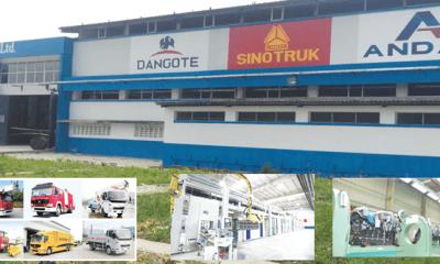 Dangote Sinotruk plant plans10, 000 trucks yearly