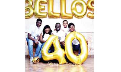 How Funke Akindele– Bello celebrated hubby's 40th birthday