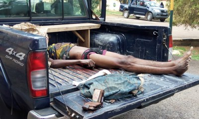 Kidnapper killed as police foil expatriate's abduction
