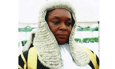 Court dimisses application by Justice Ajumogobia seeking to stop trial