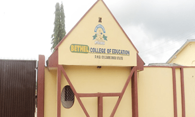 Varsity, Bethel College sign MoU to run degree programmes