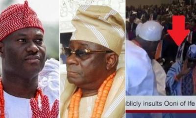 Nigerians blast Oba of Lagos for snubbing reverred Ooni of Ife