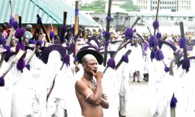 Lagos @ 50: Gitz, glamour at Eyo Festival