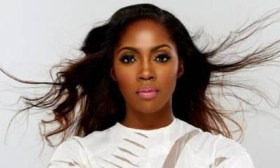 The person sucking my  boobs  not complaining  – Tiwa Savage to internet troll