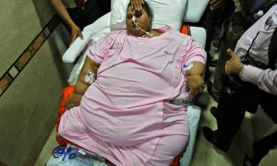 World's 'heaviest woman' needs further treatment