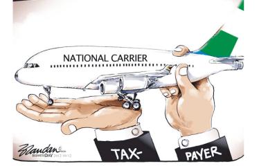 Fresh vista for national carrier