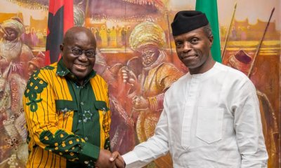 Nigeria, Ghana agree to intensify bilateral cooperation
