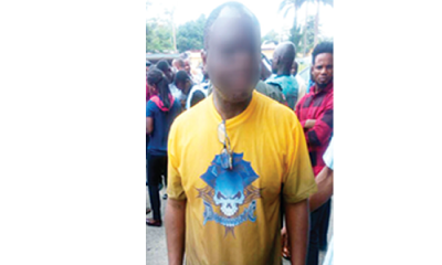 I bought my rifles from policeman in charge of armoury –Suspect