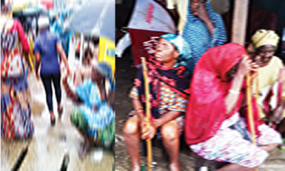 LAGOS BEGGARS:  WE C AN' T LEAVE KANO STREET BECAUSE IT 'S LUCRATIVE