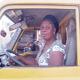Women garbage drivers