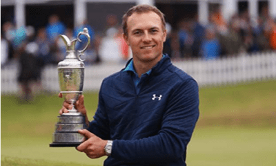 Spieth wins Open for 3rd major