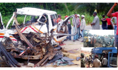 1, 306 Nigerians died in road accidents in Q4 – NBS
