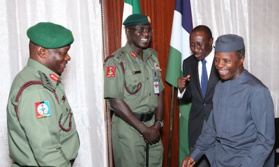Again, Osinbajo meets service chiefs over Borno bombings