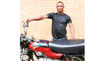 Teenage boy jailed 6 months for motorcycle theft