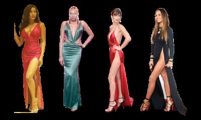 Scandalous dresses on red carpet