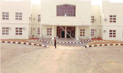 Furore over abandoned Anambra court complex