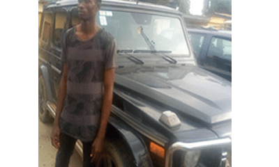 Police pose as buyers, recover N37m Benz G-Wagon