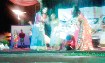 Lighting up Abuja with Indian carnival