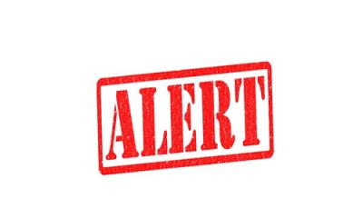 Customs cancel alert from intelligent unit