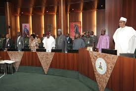Buhari holds last cabinet meeting in Aso Rock