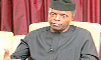 Osinbajo, Ortom meet over Benue-Ebonyi boundary dispute