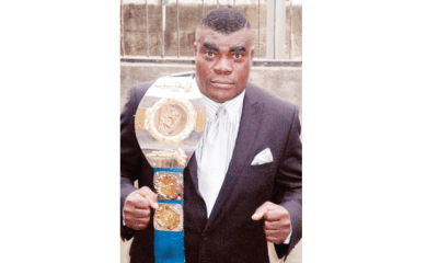 Famous wrestling champion, Uti, arraigned for beating wife to death