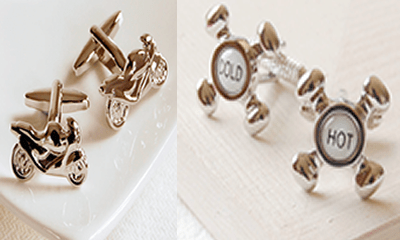 Wear style on your sleeve with quirky cufflinks